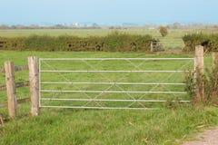 Puertas de la granja imágenes de archivo libres de regalías