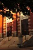 Puertas de la iglesia Imagen de archivo libre de regalías
