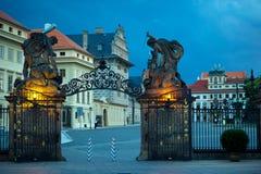 Puertas de la noche Imagenes de archivo