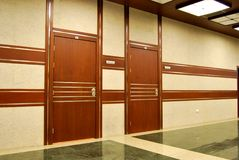 Puertas de la oficina Foto de archivo libre de regalías