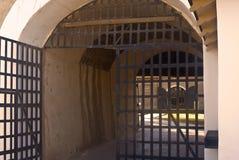 Puertas de la prisión Imagen de archivo libre de regalías