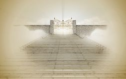 Puertas de los cielos foto de archivo