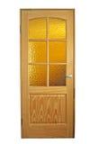 Puertas de madera Imagen de archivo libre de regalías