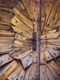 Puertas de madera foto de archivo libre de regalías