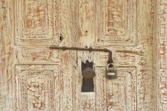 Puertas de madera Foto de archivo