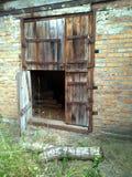 Puertas de madera viejas Imagenes de archivo
