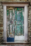 Puertas de madera viejas fotos de archivo