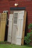 Puertas de madera viejas Fotografía de archivo