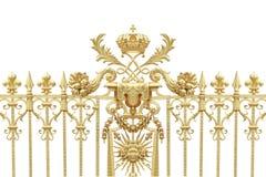 Puertas de oro fotografía de archivo