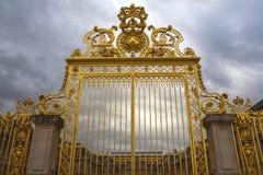 Puertas de oro de Versalles Fotos de archivo