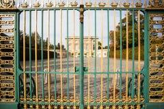 Puertas de oro de Versalles Fotografía de archivo libre de regalías