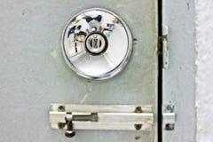 puertas de plata foto de archivo libre de regalías