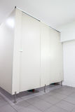 Puertas de retretes Imagen de archivo