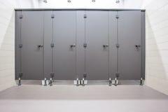 Puertas de retretes Fotografía de archivo