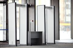 Puertas de seguridad Imagen de archivo