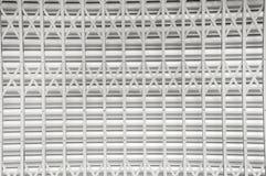 Puertas de seguridad de acero de plata Fotos de archivo