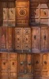 Puertas de Siena Imágenes de archivo libres de regalías