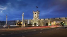 Puertas de Tierra Cadiz Spain fotografering för bildbyråer