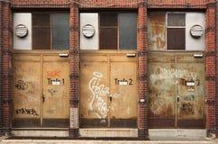 Puertas de Trafo Fotos de archivo