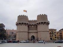 Puertas de Valencia Fotografía de archivo libre de regalías