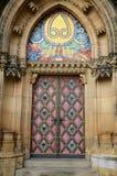 Puertas de Vysehrad, Praga imagen de archivo libre de regalías