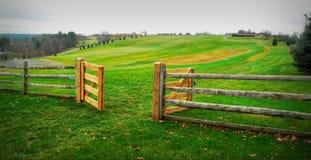 Puertas de Wooodstock fotografía de archivo libre de regalías