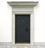 Puertas decorativas del metal foto de archivo