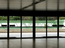 Puertas del aeropuerto Fotos de archivo