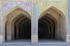 Puertas del arco con el mosaico foto de archivo
