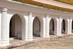 Puertas del arco del templo Fotografía de archivo libre de regalías