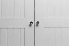 Puertas del armario imagen de archivo libre de regalías