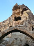 Puertas del cappadocia del urgup Imagenes de archivo