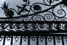 Puertas del castillo Fotografía de archivo