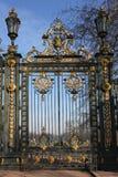Puertas del d'Or de Parc de la Tête imagenes de archivo