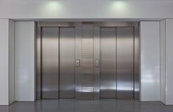 Puertas del elevador Fotografía de archivo