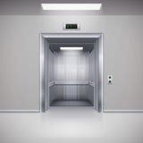Puertas del elevador Imágenes de archivo libres de regalías