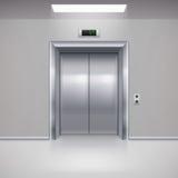 Puertas del elevador Foto de archivo