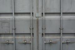 Puertas del envase Imagenes de archivo