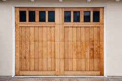 Puertas del garage Foto de archivo