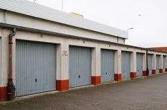 Puertas del garaje Fotos de archivo libres de regalías