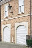 Puertas del garaje Imagen de archivo