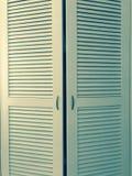 Puertas del guardarropa imágenes de archivo libres de regalías