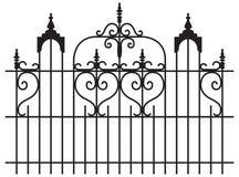 Puertas del hierro Fotografía de archivo