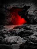 Puertas del infierno Fotos de archivo