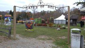 Puertas del infierno, Michigan Fotos de archivo
