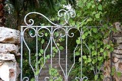 Puertas del jardín fotos de archivo libres de regalías