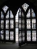Puertas del monasterio Fotografía de archivo libre de regalías
