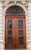 Puertas del museo de Art History Imágenes de archivo libres de regalías
