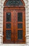Puertas del museo de Art History Imagenes de archivo