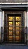 Puertas del paraíso, baptisterio, Florencia, Italia fotos de archivo